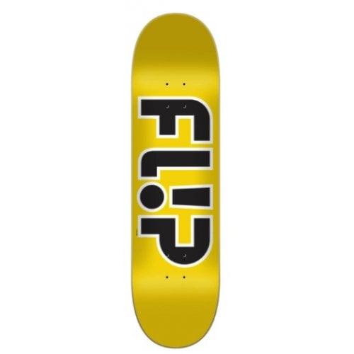 Tabua Flip: Team Outlined Yellow 8.45x32.15