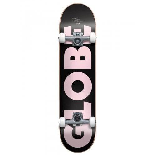 Skate Completo Globe: G0 Fubar Black/Pink 8.0x31.63