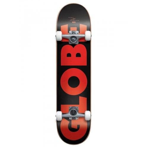 Skate Completo Globe: G0 Fubar Black/Red 7.75x31