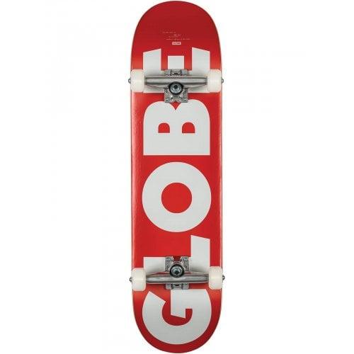 Skate Completo Globe: G0 Fubar Red/White 8.25x32