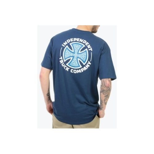 T-Shirt Independent: Tee Repeat Cross NV