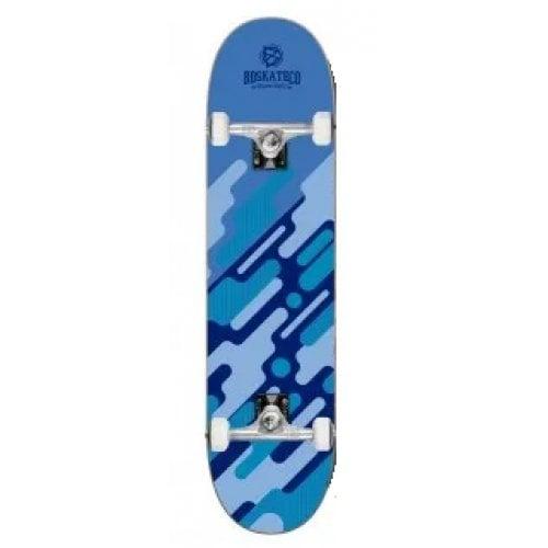 Skate Completo BDSkate: Digital Camo Blue 8.0