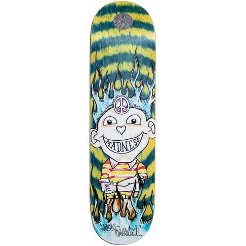 Tábua Madness:  Jack Gonz R7 Green Swirl 8.5x32.63