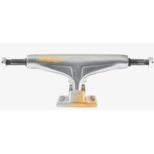 Trucks Tensor: Alum Stencil Mirror Raw/Gold Fade 5.25
