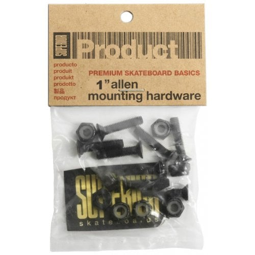 "Parafusos Superior: Hardware 1"" Allen"