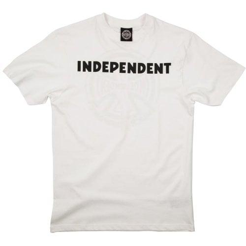 T-Shirt Independent: B/C WH