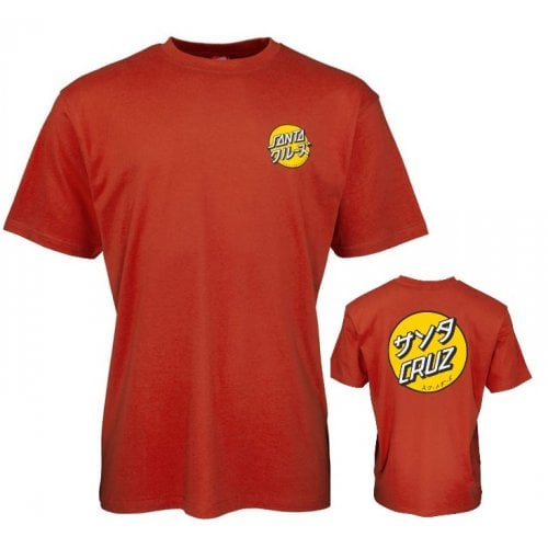 T-Shirt Santa Cruz: Mixed Up Dot Ketchup RD