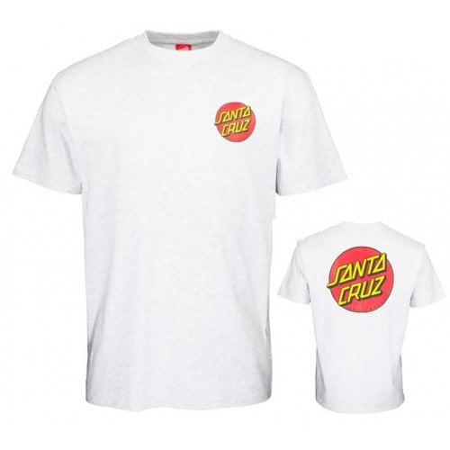 T-Shirt Santa Cruz: Classic Dot Chest GR