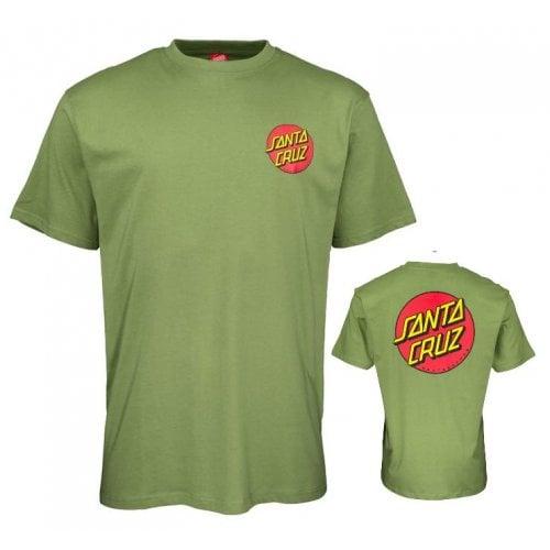 T-Shirt Santa Cruz: Classic Dot Chest GN