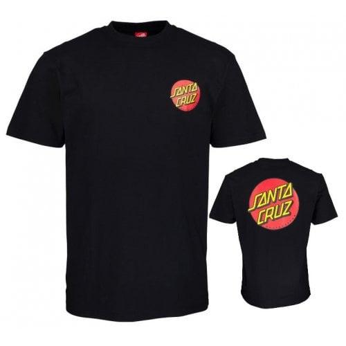 T-Shirt Santa Cruz: Classic Dot Chest BK