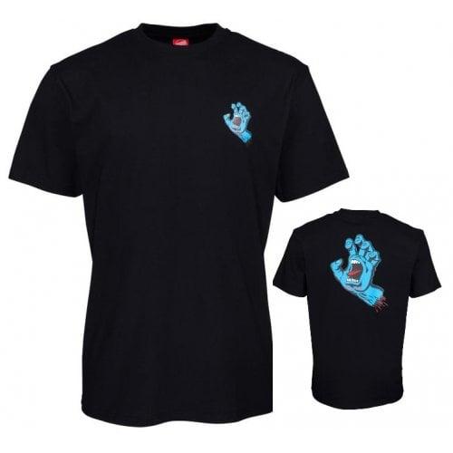T-Shirt Santa Cruz: Screaming Hand Chest BK