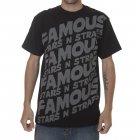 Famous Stars and Straps T-Shirt manga curta. Marca Famous Stars&Straps. Cor: preto/cinza.