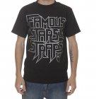 Famous Stars and Straps T-Shirt da marca Famous Stars & Straps. Cor: preto/cinza.
