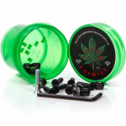 "Parafusos Diamond: Hella Tight Hardware Torey Pudwill 7/8"" Green"