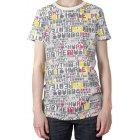 T-Shirt para mulher da marca Hurley. Cor: cinza/branco.