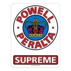 "Autocolante Powell Peralta: 12"" Supreme OG"