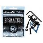 """Parafusos BDSkateCO: Black & Blue 1"""" Allen"""