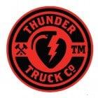 Autocolante Thunder Trucks Co: Logo 45 RD/BK