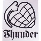 Autocolante Thunder Trucks Co: Logo WH/BK