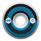 Rodas Universal: Fluor 101A Blue (60mm)