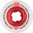 Rodas Ricta: Chrome Clouds Red (54mm) 86A