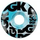Rodas DGK: Swirl Formula Blue 53mm (101A)