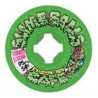 Rodas Santa Cruz: Double Take Cofe Vomit Mini Green 95A (54mm)