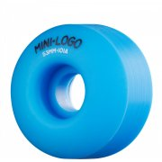 Mini Logo Skateboards Rodas Mini-Logo Skateboards: C-Cut Blue (53 mm)