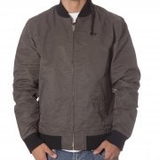 Casaco Obey: Newman Jacket GN/BK