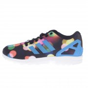 Ténis adidas originals: ZX Flux BK/MC