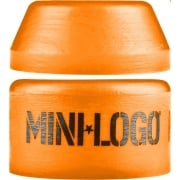 Mini Logo Skateboards Borrachas Mini-Logo: Medium Orange