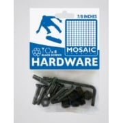 "Parafusos Mosaic: Mounting Bolts Black Pack 7/8"" Allen"