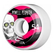 Rodas Powell Peralta: Ripper 4 White (54 mm)