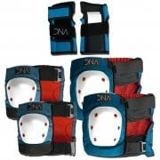 Set Protecções DNA: Blue Knee & Elbow KIDS Pack BL