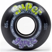 Rodas Enuff: Super Softie Black 85A (55 mm)