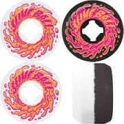 Rodas Santa Cruz: Double Take Vomit Mini White Black 97A (56 mm)