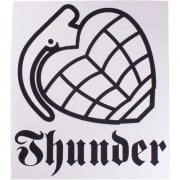 Autocolante Thunder Trucks Co: Logo WH/BK