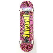 Imagine Skateboards Skate Completo Imagine: Leopard Pink/Yellow 8.0
