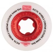 Rodas Ricta: Chrome Clouds Red (56mm) 86A