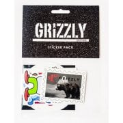 Autocolantes Grizzly: Seasonal Sticker Pack