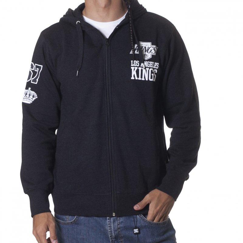 Casaco Majestic  NHL Los Angeles Kings GR-BK  c68be88f9ee