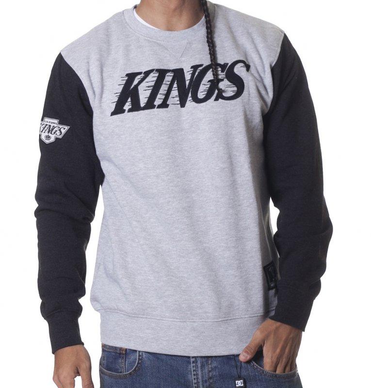 Casaco Majestic  NHL Los Angeles Kings GR  c00771923fa