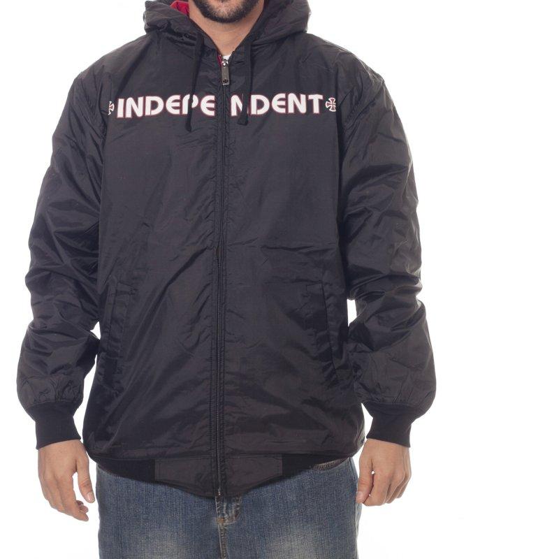 Corta Ventos Independent: Jacket Bar Cross Jacket BK