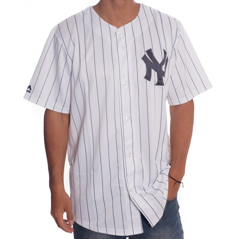 Camisa MLB Majestic  New York Yankees WH  338e675bd9a